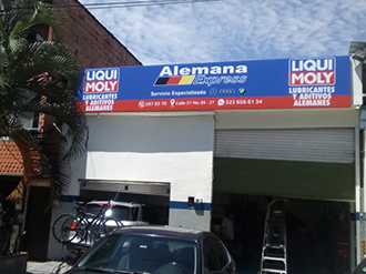 Alemana Express Medellín - LIQUI MOLY