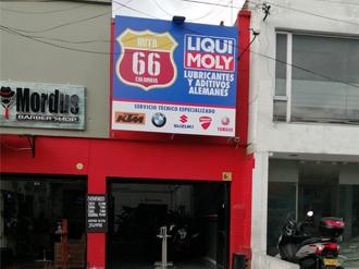Ruta 66 Bogotá - LIQUI MOLY