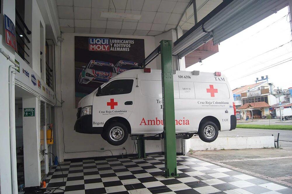 Liqui Moly dona cambio de aceite a los vehículos de la salud