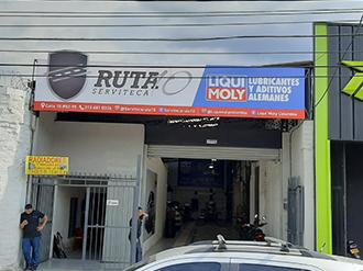 Ruta 10 Serviteca Medellín - LIQUI MOLY