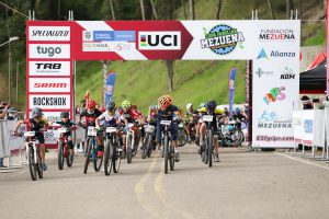 ESPECTACULAR LA COPA MEZUENA UCI EN ZIPAQUIRÁ