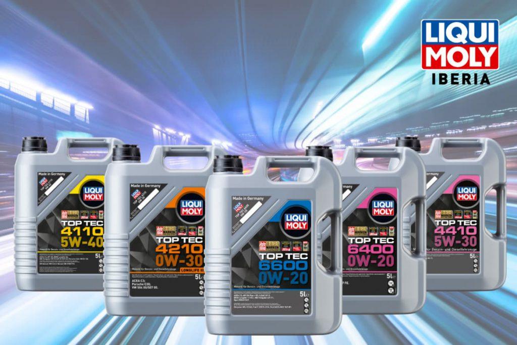 Cinco nuevos aceites de motor LIQUI MOLY